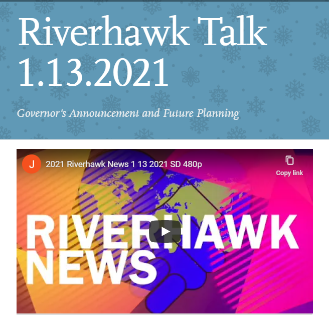 Riverhawk Talk