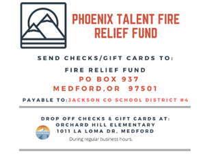 Phoenix Talent Fire Relief Fund